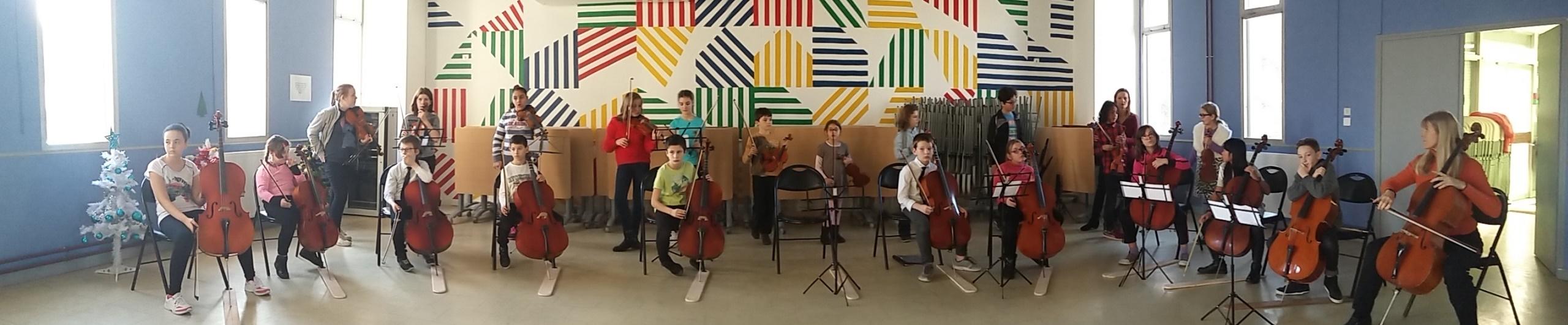 Premier concert Orchestre des Quartiers