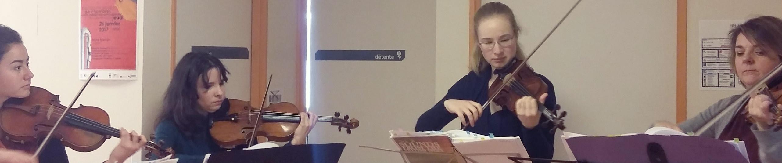 """""""Les violons voyageurs"""""""