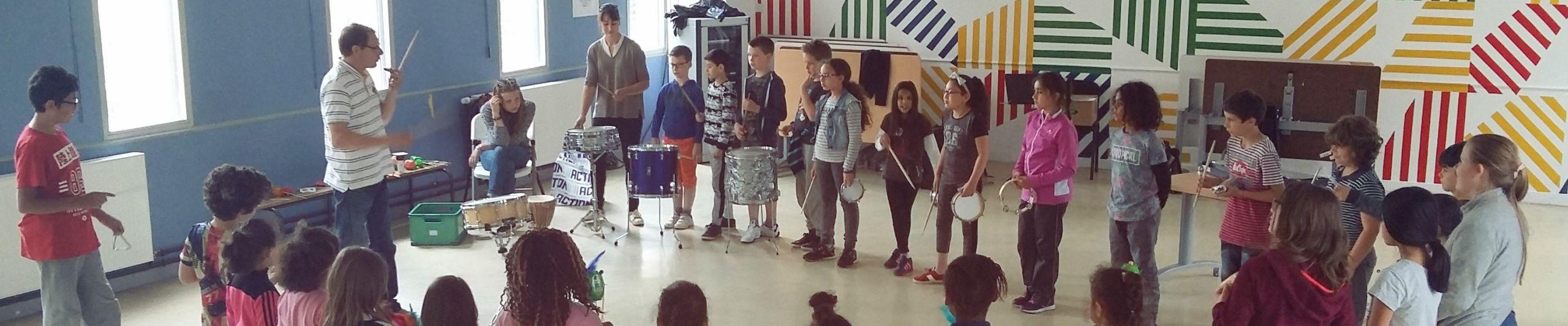 Après-midi percussions