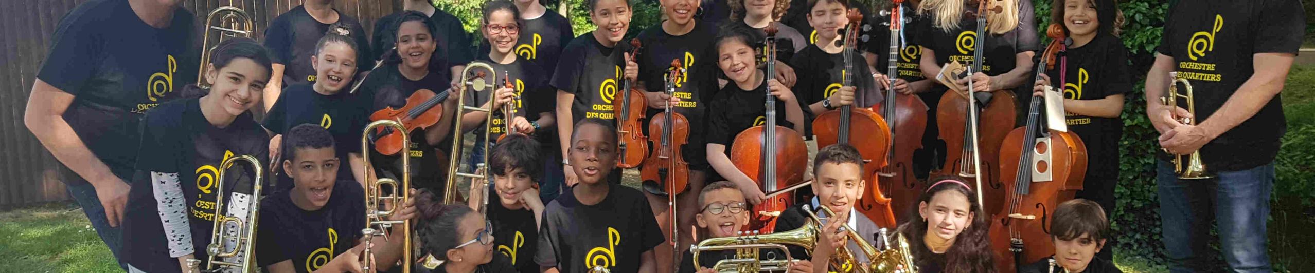 Stage Orchestre des Quartiers