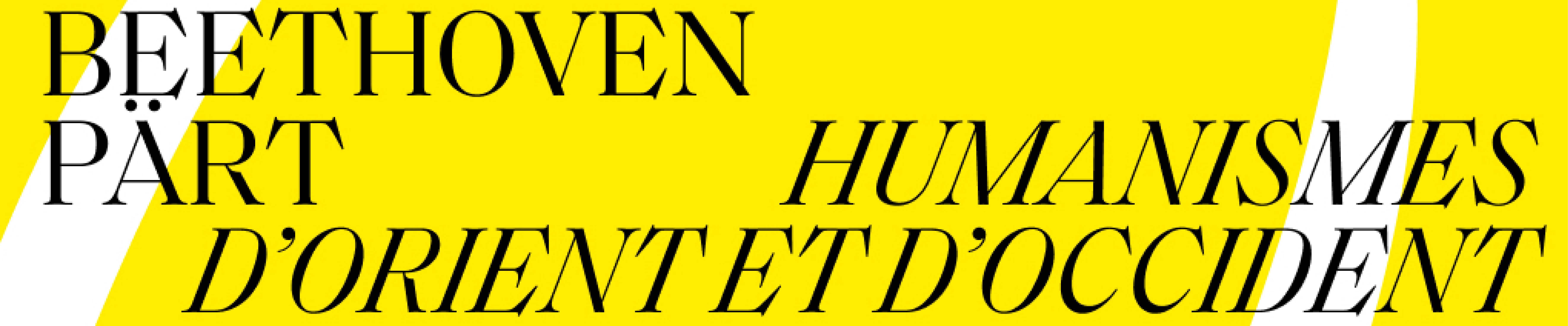 "Concert ""Humanismes d'Orient & d'Occident"""